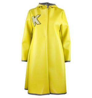 Жълто палто Kontessa - MyFashionStore.eu
