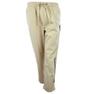 Дамски панталон - Silvian Heach-beige- MyFashionStore.eu