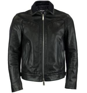 Мъжко кожено яке Dsquared2 - MyFashionStore.eu