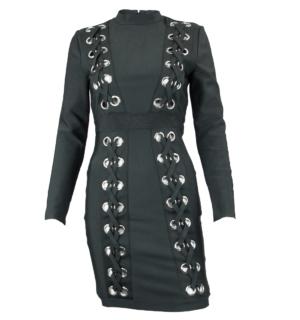Елегантна черна рокля Odi et Amo - MyFashionStore.eu
