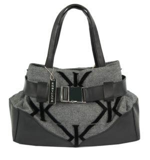 Сива чанта Kontessa - MyFashionStore.eu