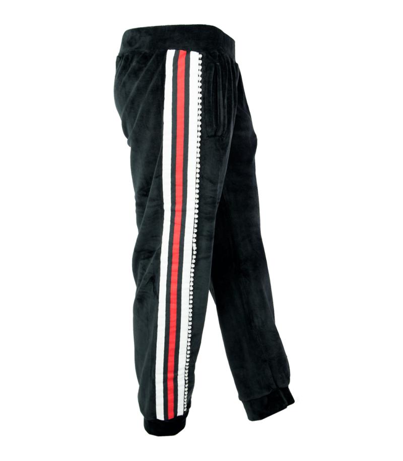 Черен спортен панталон Odi et Amo 3 - MyFashionStore.eu