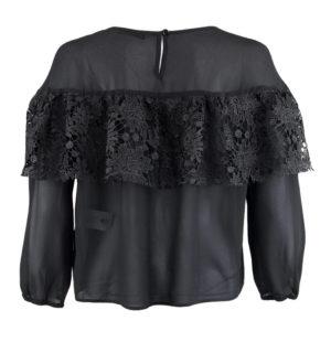 Нежна блуза с дантела Silvian Heach - MyFashionStore.eu