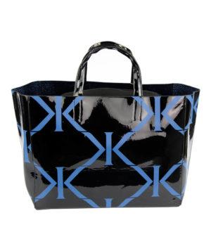Дамска чанта Kontessa- black&blue - MyFashionStore.eu