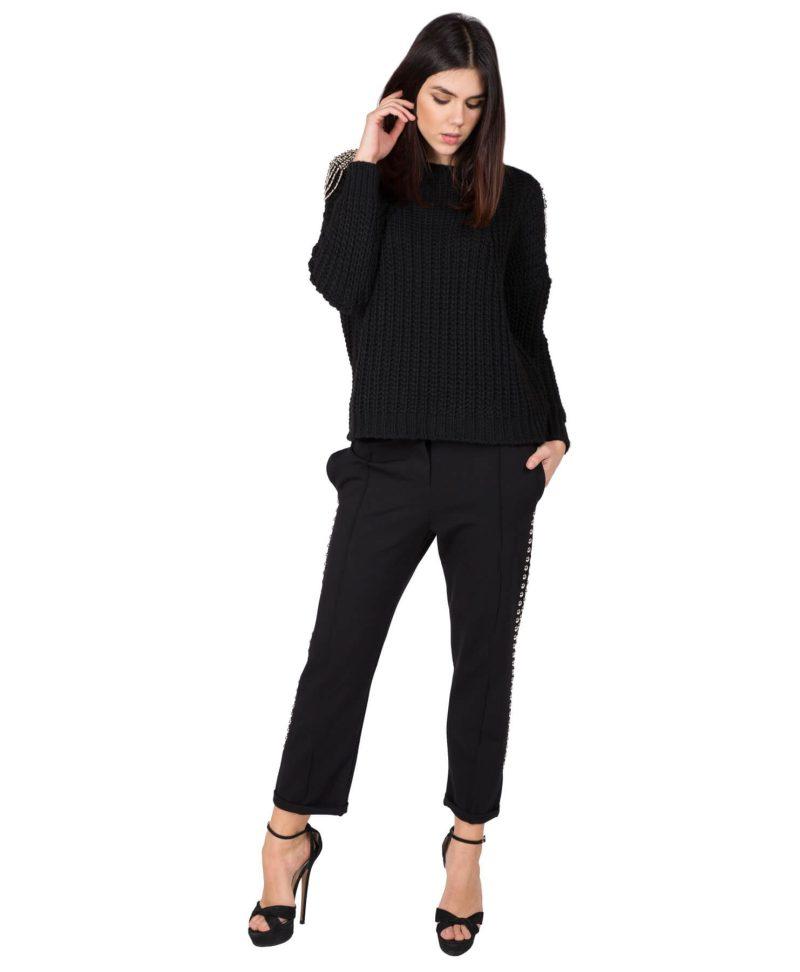 Черен спортен панталон Odi et Amo - MyFashionStore.eu