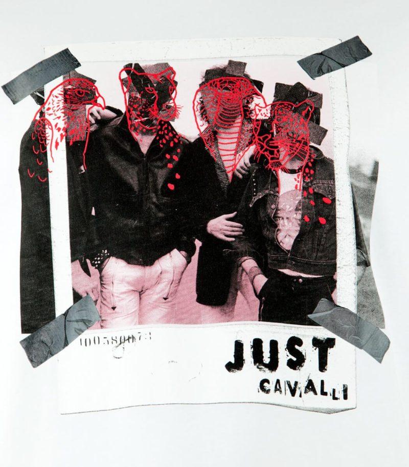 Мъжка тениска Just Cavalli S03GC0498 N20663 - MyFashionStore.eu