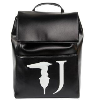 Черна дамска раница Trussardi Jeans - MyFashionStore.eu