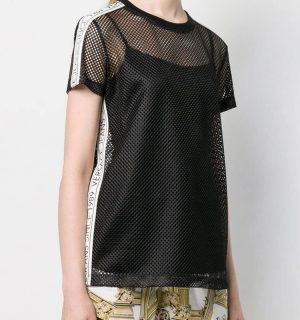 Дамска тениска-мрежа VERSACE JEANS - MyFashionStore.eu
