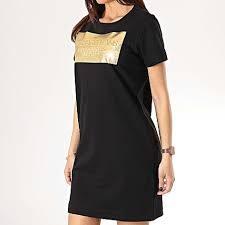 Дамска рокля VERSACE JEANS - gold - MyFashionStore.eu