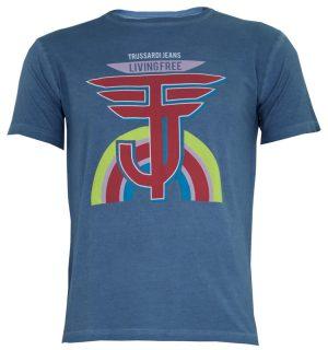 Men's T-Shirt Trussardi Jeans 52t00221 - MyFashionStore.eu