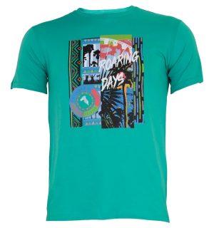 Men's T-Shirt Trussardi Jeans 52T00233 1T001675- MyFashionStore.eu